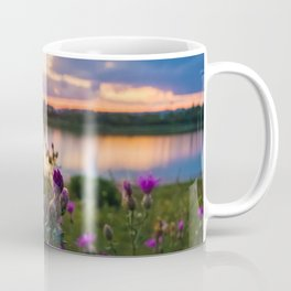 wild steppe violets Coffee Mug