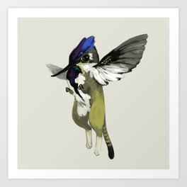 Tiny Griffin (3 of 3) Art Print