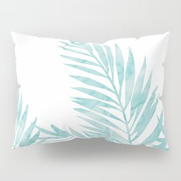 Palm Leaves Island Paradise Pillow Sham