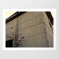 concrete Art Prints featuring concrete by black ghöst