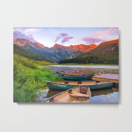Piney Lake Metal Print