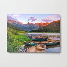 Piney Lake Metal Print
