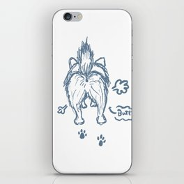 I touch the Butt! iPhone Skin