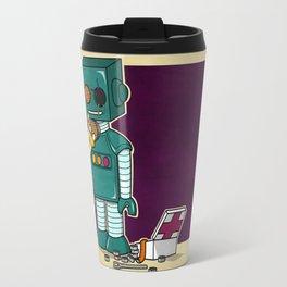 Robots on Friendship Travel Mug