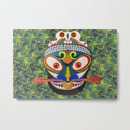 Tribal Art Metal Print