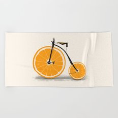 Vitamin Beach Towel