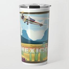 Mexico Desert vintage style travel Travel Mug