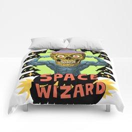 SPACE WIZARD Comforters