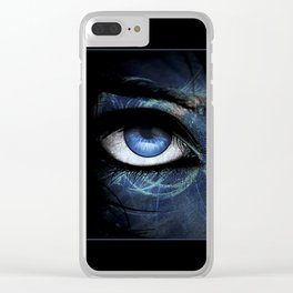 Behind Her Eyes Clear iPhone Case