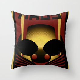 OBEY THE MAU5 Throw Pillow