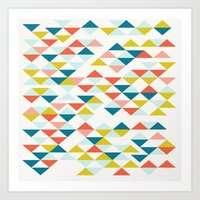 colombia Art Prints featuring Colombia by Menina Lisboa