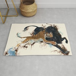 A Battle of Wills Rug