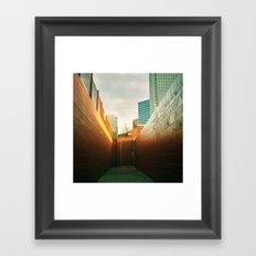 Doorway To Dallas Framed Art Print