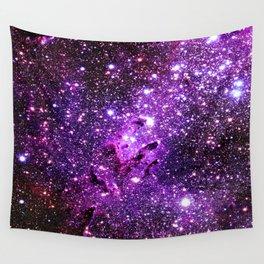 Purple Galaxy Eagle Nebula Wall Tapestry
