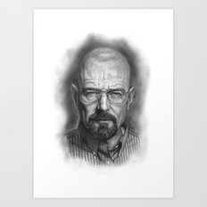 Walter White / Breaking Bad Art Print