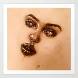 Cambria | Woman Portrait Art Print