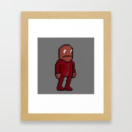 Choco, Survie Jumpsuit Framed Art Print