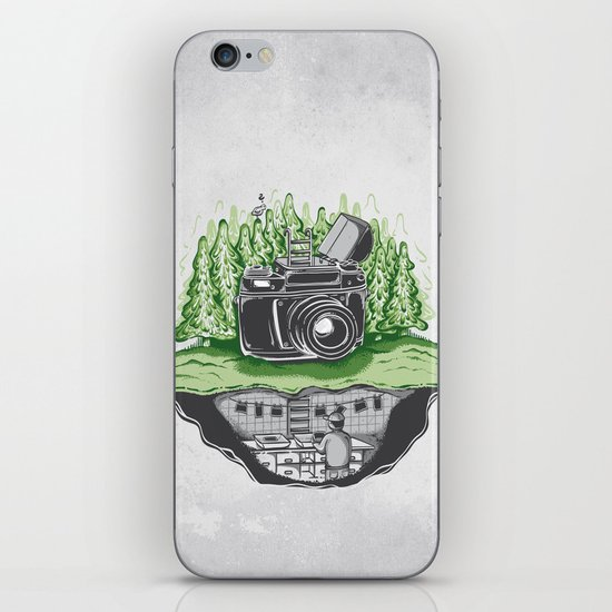 behind the scenes iPhone & iPod Skin