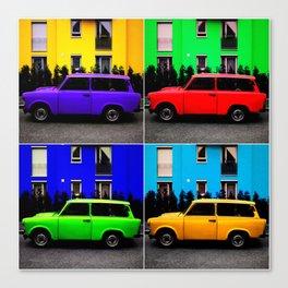 Eastern Germany Car - Trabant 601s Canvas Print