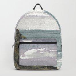 Atlantic Ocean Coastal Cliffs Backpack