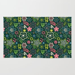 Beautiful Garden Rug