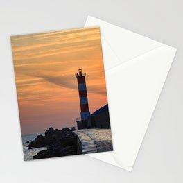 Light House at Port la Nouvelle South France Stationery Cards