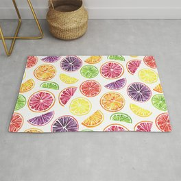 Citrus Wheels Rug