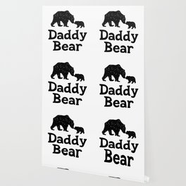 Daddy Bear Fathers Day Dad Gift Wallpaper