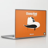 anchorman Laptop & iPad Skins featuring Champ Kind: Sports by BC Arts