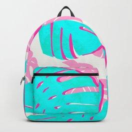 Tropical art in watercolor I Backpack