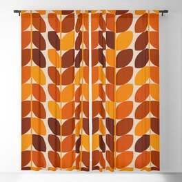 Fall Leaves Blackout Curtain
