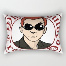 What Would Crowley Do? Rectangular Pillow