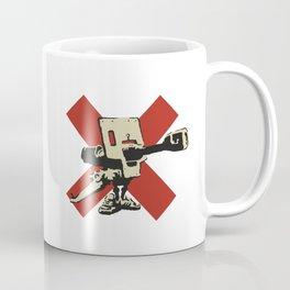Bad meaning good 2002 - Banksy Graffiti Coffee Mug