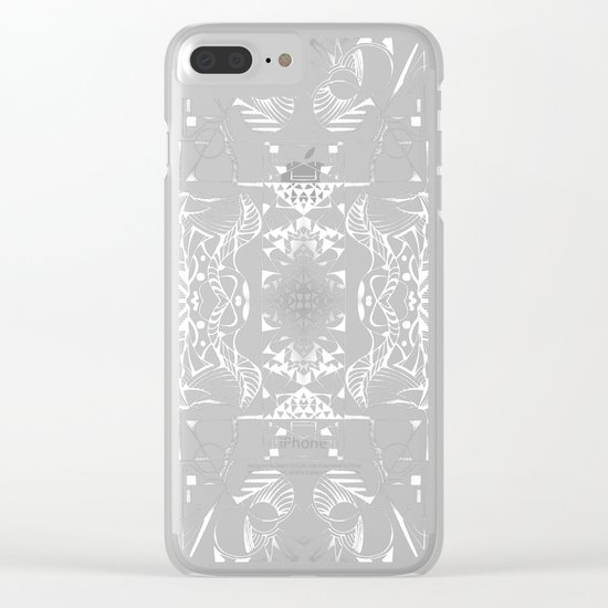Geometropolis Clear iPhone Case