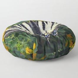 Scarce Swallowtail, Iphiclides Podalirius Floor Pillow