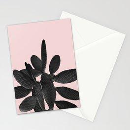 Black Blush Cactus #2 #plant #decor #art #society6 Stationery Cards