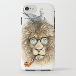 Lion sailor & seagull iPhone Case