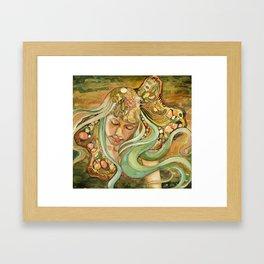 Resting in the Green Wind Framed Art Print