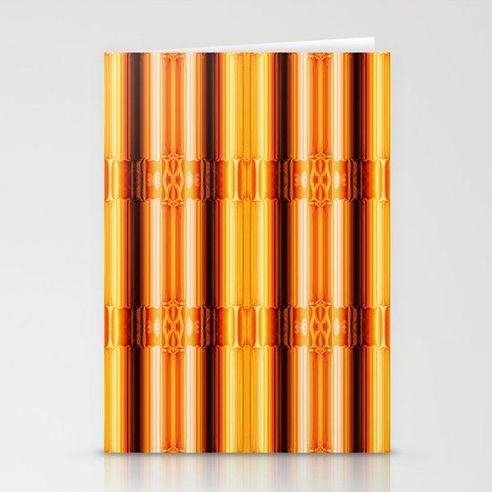 Pattern gold Stationery Cards