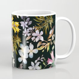 Flowers with Hidden Pot Leaves Coffee Mug