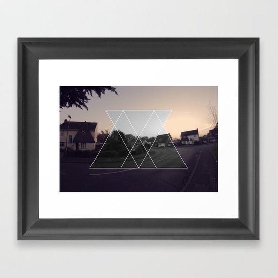 ABSTRACT GRAPHIC  Framed Art Print