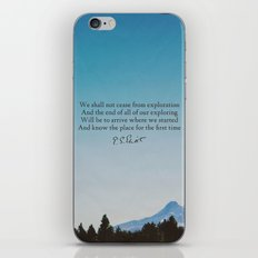T.S. Eliot: Exploration iPhone & iPod Skin