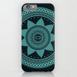 Eye of Protection Mandala iPhone Case