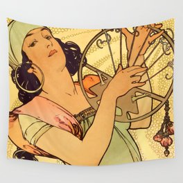 "Alphonse Mucha ""Salomé"" Wall Tapestry"