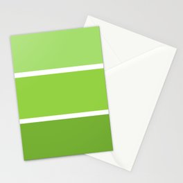New Green Stationery Cards