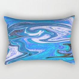 Marbled XVI Rectangular Pillow