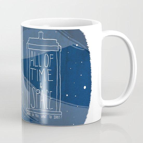 All Of Time And Space Mug