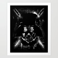 sith Art Prints featuring Sith Lord by Li.Ro.Vi