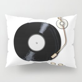 Record Deck Pillow Sham