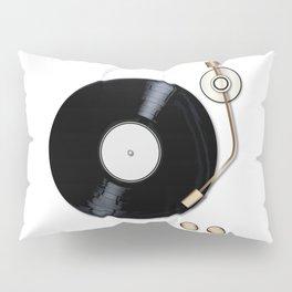 Record Deck Pillow Sham